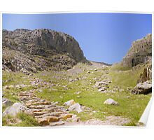 The Lake District: The Path Between the Scafells Poster