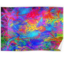 Color Chaos Poster