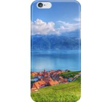 Terraced Vineyards of Lavaux UNESCO iPhone Case/Skin