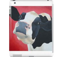 Cow red iPad Case/Skin