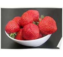 Strawberries :) :) Poster