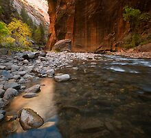 Zion Narrows by Zane Paxton