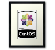 Powered by CentOS ! Framed Print