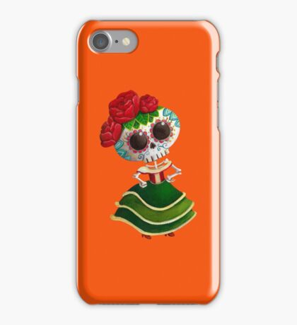 Mexican Skeleton Girl iPhone Case/Skin