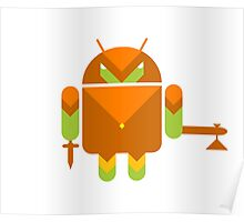 Android Warrior ! Poster