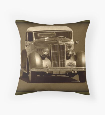 Older Car Throw Pillow