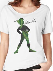 Tropical Peter Pan  Women's Relaxed Fit T-Shirt