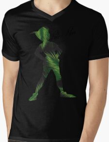 Tropical Peter Pan  Mens V-Neck T-Shirt