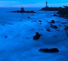 Blue Pigeon Point by Zane Paxton