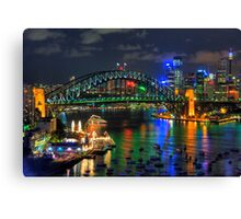 Lights, Camera - Sydney Australia - The HDR Experience Canvas Print