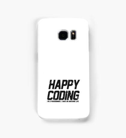 Programmer : Happy Coding Samsung Galaxy Case/Skin