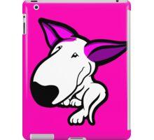 Pink Ears English Bull Terrier Puppy iPad Case/Skin