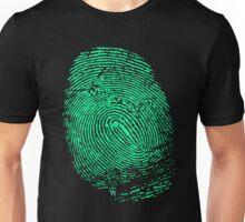 Fingerprint green Unisex T-Shirt