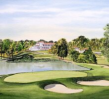 Congressional Golf Course by bill holkham