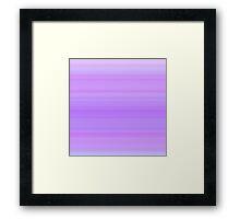 Violet-Purple Stripes Framed Print