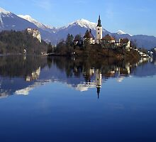 Lake Bled, Slovenia by Luke Poyser