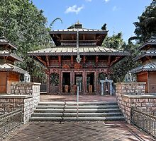 Peace Pagoda • South Bank • Brisbane by William Bullimore