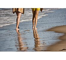 The Beach Walkers Photographic Print