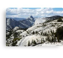 Half Dome in Yosemite National Park from Olmsted Point Canvas Print