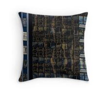 Degrees of distortion Throw Pillow