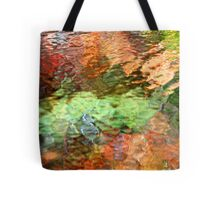 Colorful Abstract Reflection Tote Bag