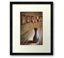 Solo Exhibition Framed Print