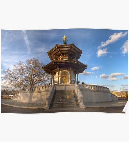 Peace Pagoda Poster
