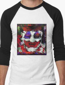 John Wayne Gacy. All the world loves a clown. Men's Baseball ¾ T-Shirt