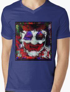 John Wayne Gacy. All the world loves a clown. Mens V-Neck T-Shirt