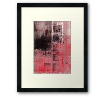 Crosses In The Night Framed Print