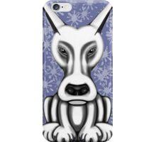 Mr Grey Cartoon Dog  iPhone Case/Skin