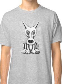 Mr Grey Cartoon Dog  Classic T-Shirt