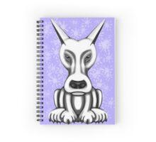 Mr Grey Cartoon Dog  Spiral Notebook