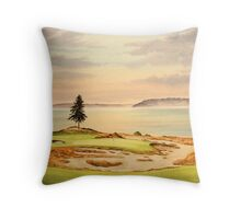 Chambers Bay Golf Course Throw Pillow