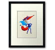 Super Fox Framed Print