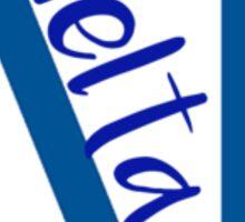 Delta Gamma Sticker
