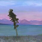 Yellowstone Lake by Barbara Weir