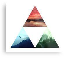 Triforce Design Metal Print