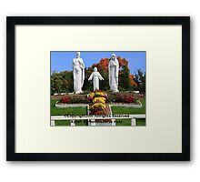 Joseph,Jesus And Mary Framed Print