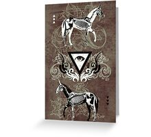 Undead unicorns #2 Greeting Card