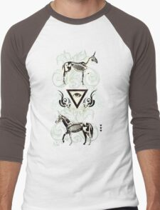 Undead unicorns #2 Men's Baseball ¾ T-Shirt
