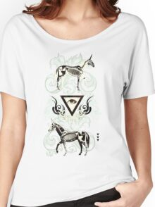 Undead unicorns #2 Women's Relaxed Fit T-Shirt