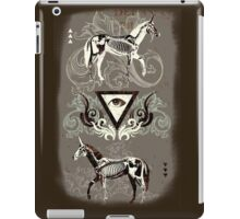 Undead unicorns #2 iPad Case/Skin
