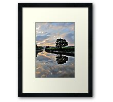Clouds Above Framed Print