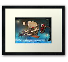 Heart Thief Framed Print
