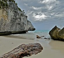 Tulum Beach by Lynn Armstrong