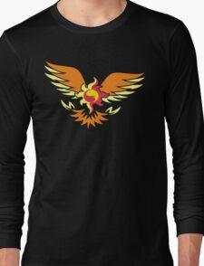 Sunset Shimmer phoenix cutie mark Long Sleeve T-Shirt