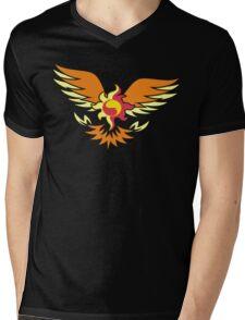 Sunset Shimmer phoenix cutie mark Mens V-Neck T-Shirt