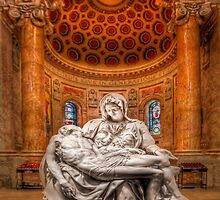 Michelangelo's La Pieta by Peter Thorpe