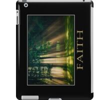 Faith Inspirational Art iPad Case/Skin